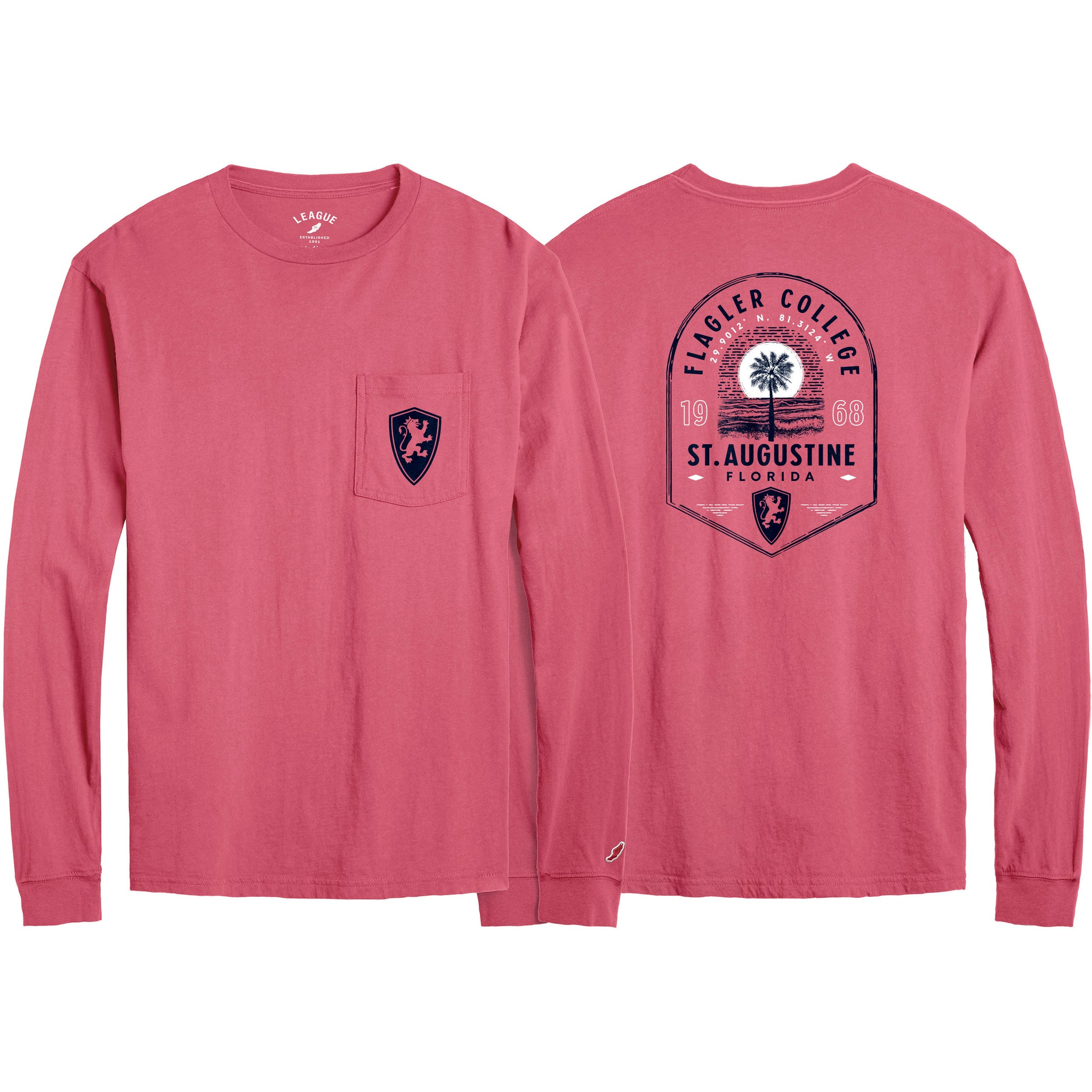 Spring Pocket Long Sleeve T-Shirt