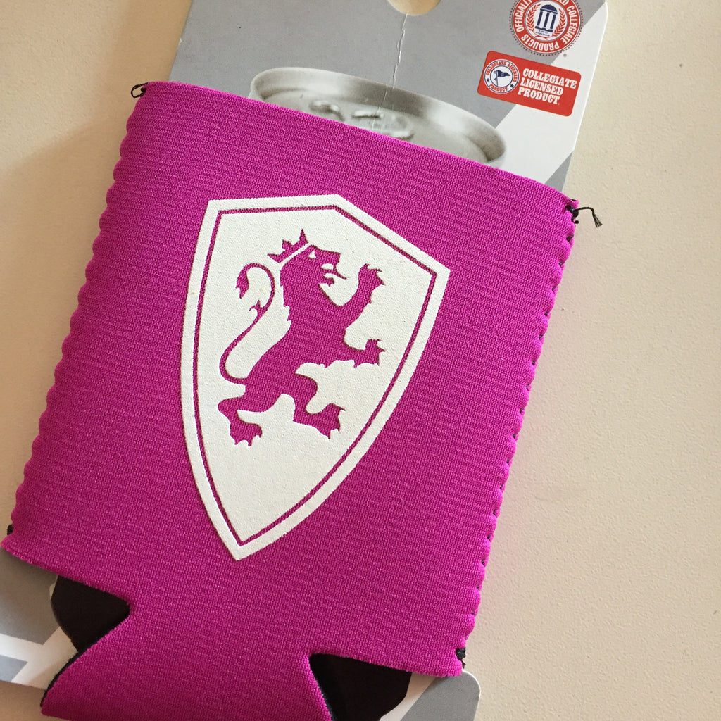 Pink Shield Coozie