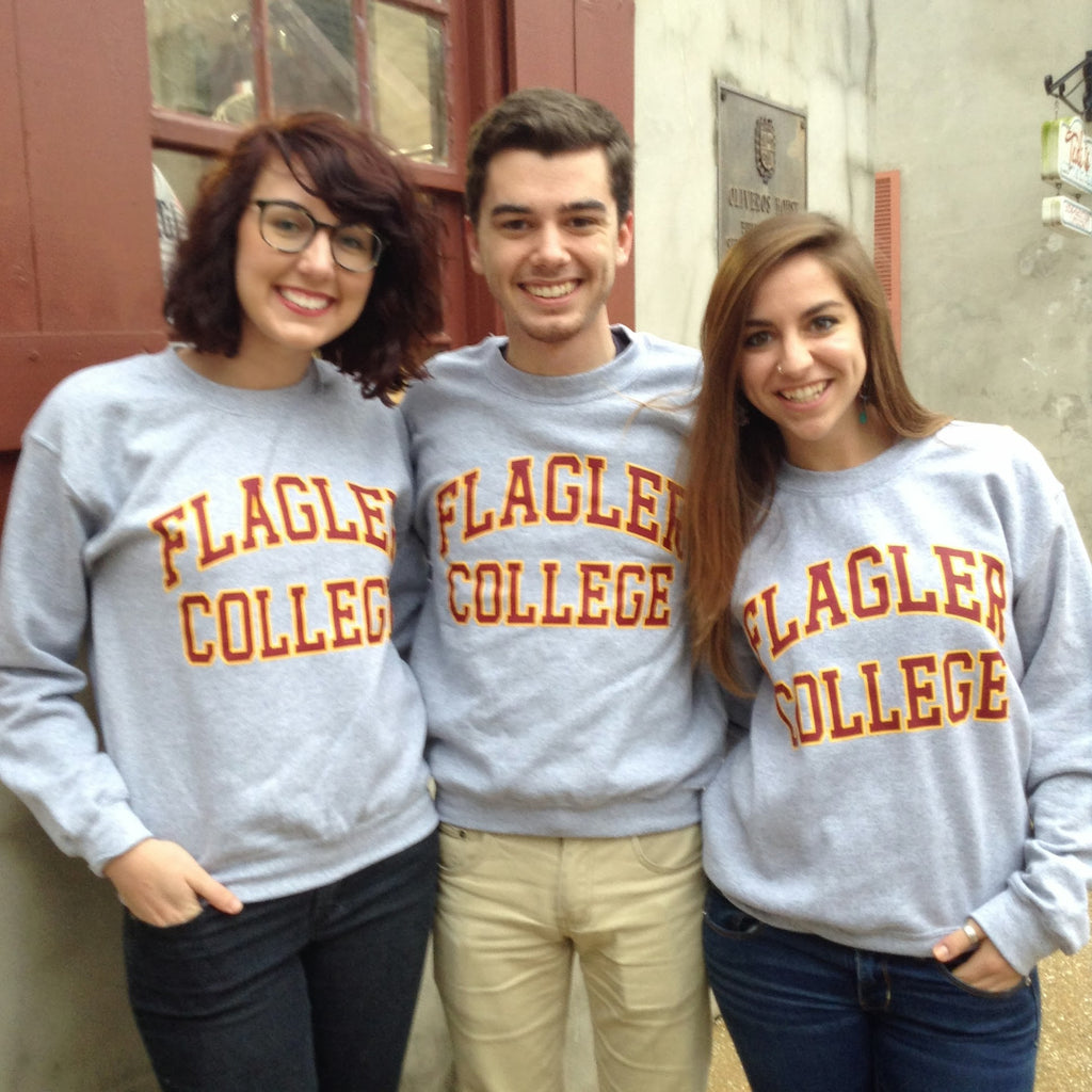 Official Flagler College Crewneck