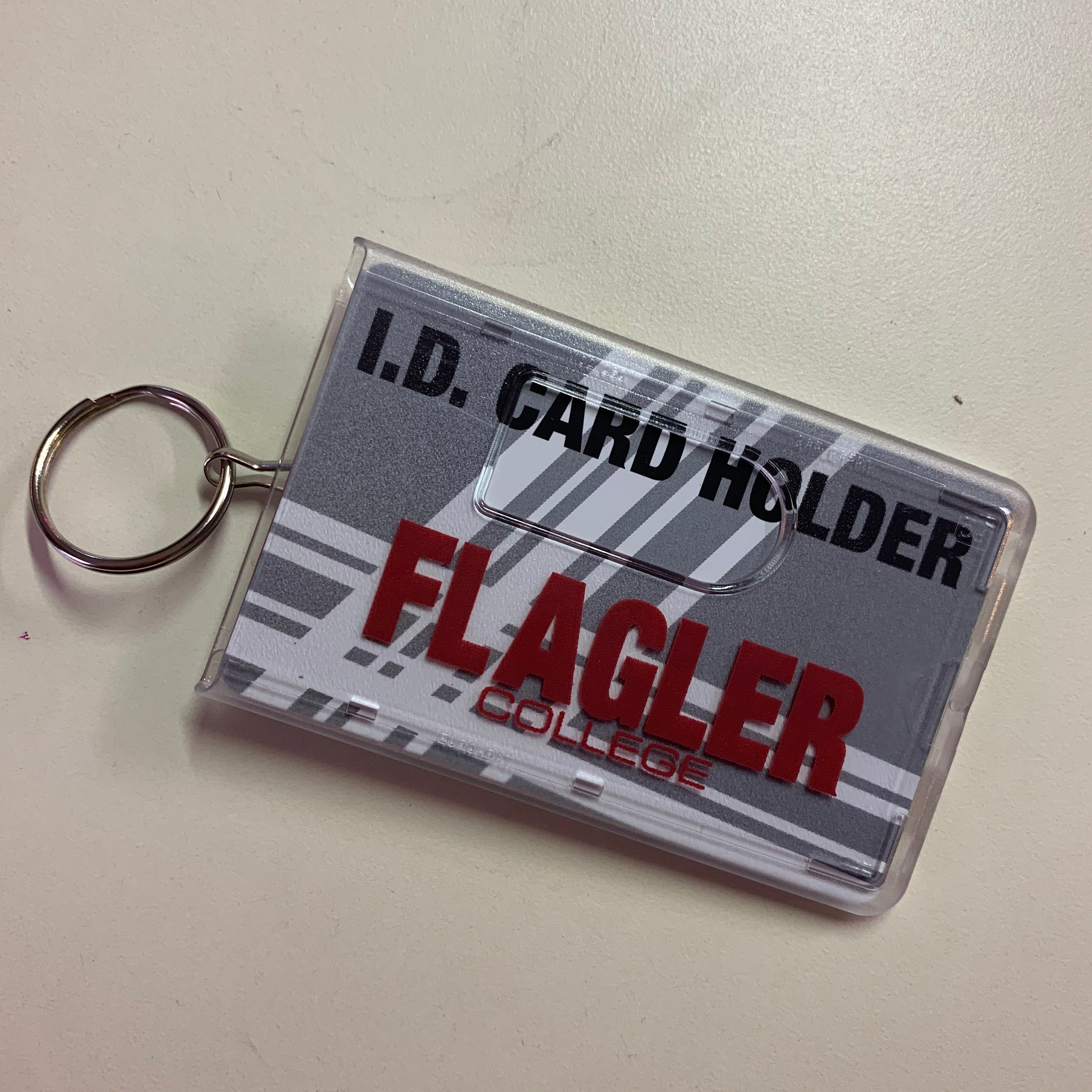 Plastic ID Holder