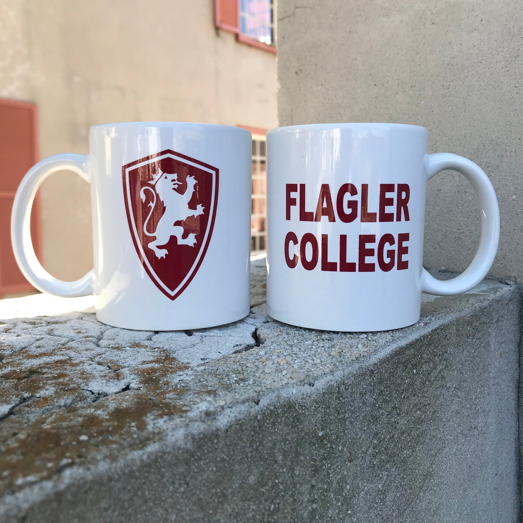 Flagler College Shield Mug