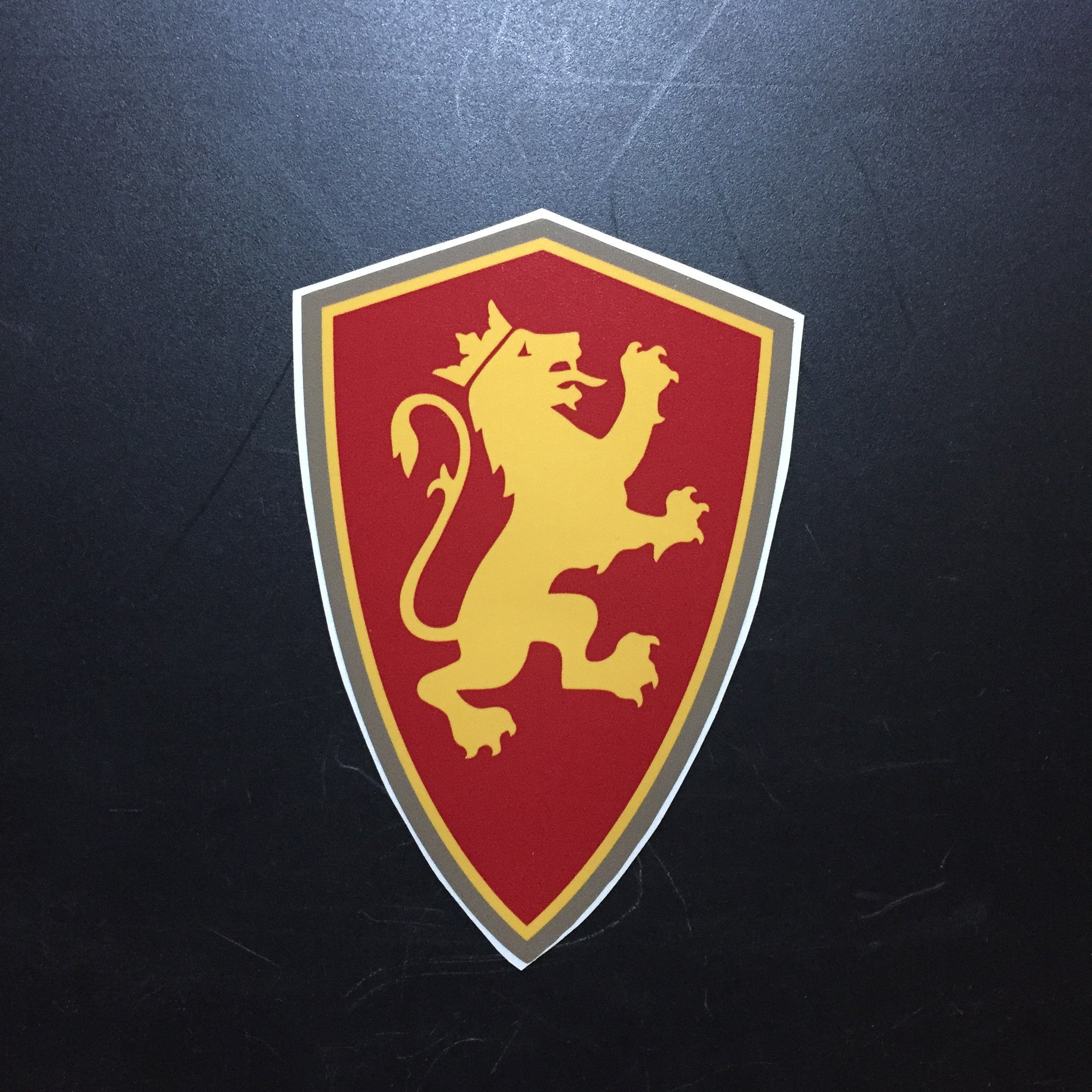 Large Shield Decal