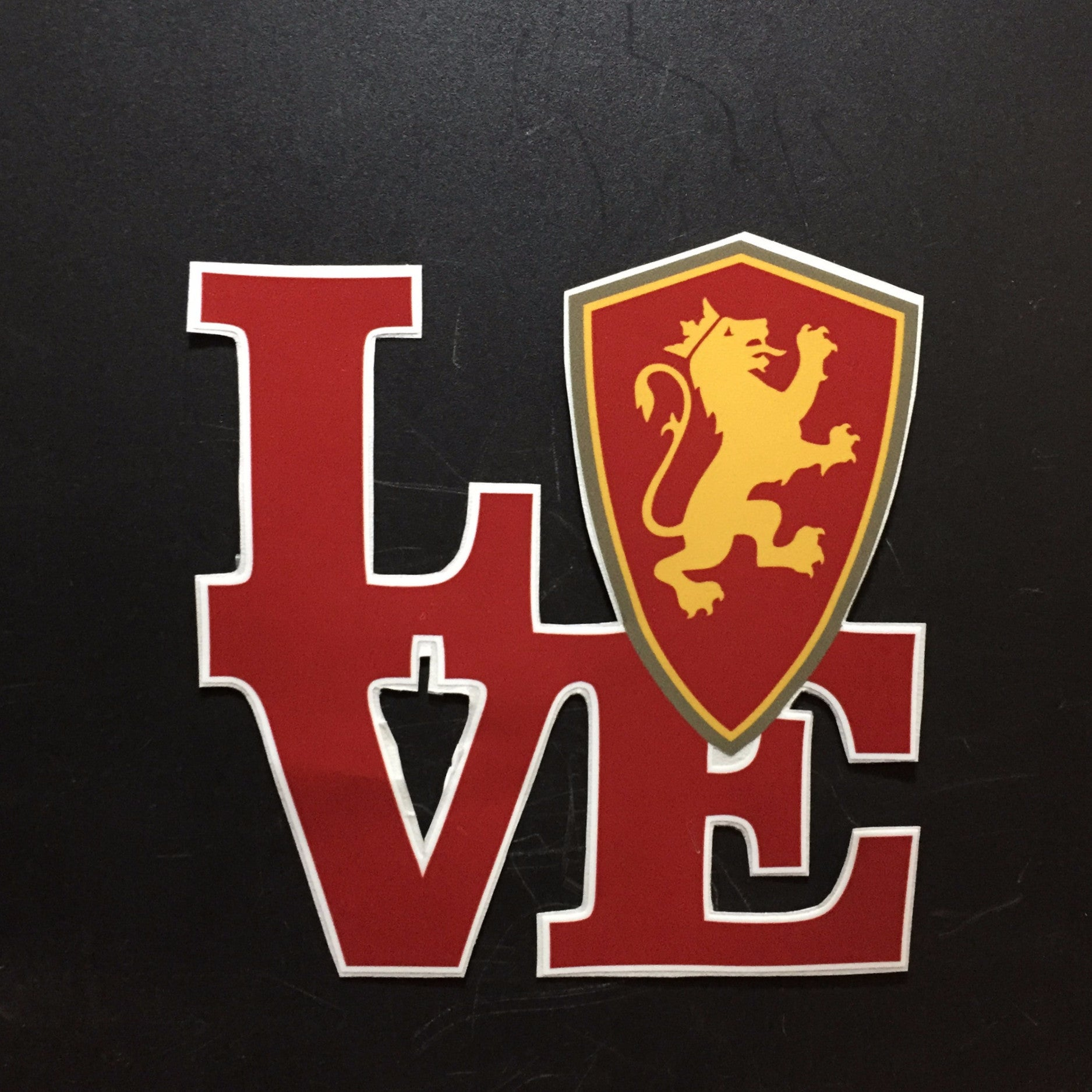 Love Flagler Decal