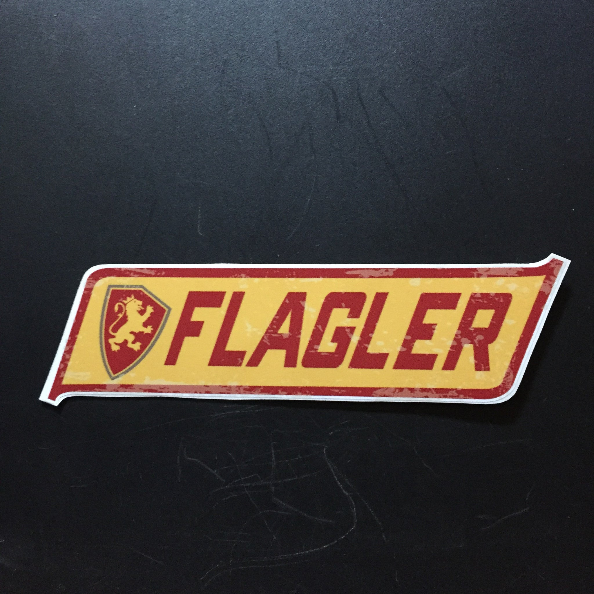 Flagler Banner Decal
