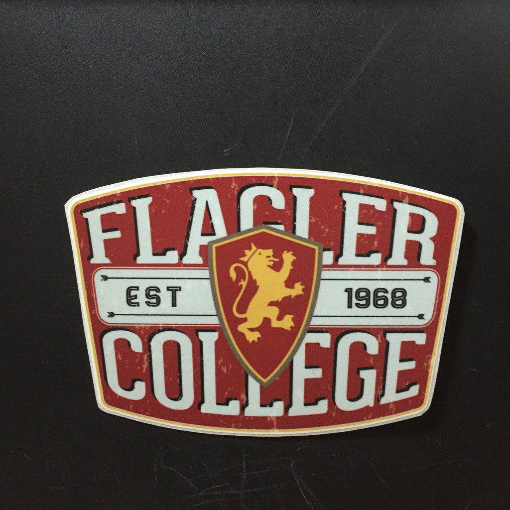 Flagler College Established 1968 Decal