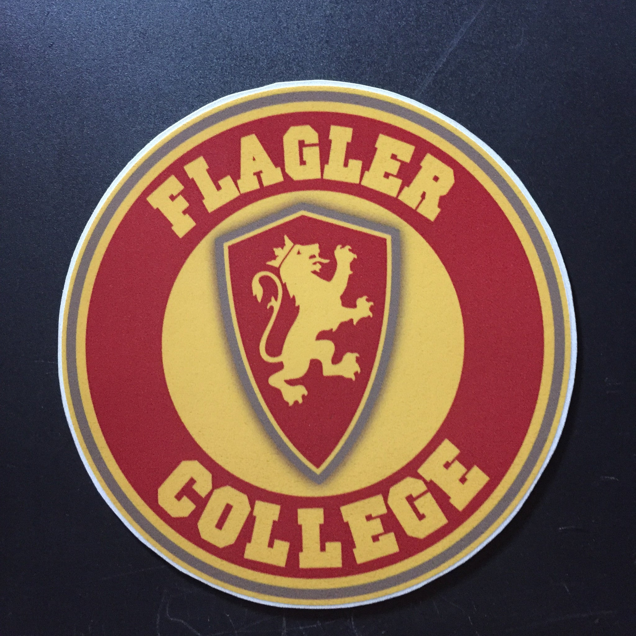 Flagler College circle sticker