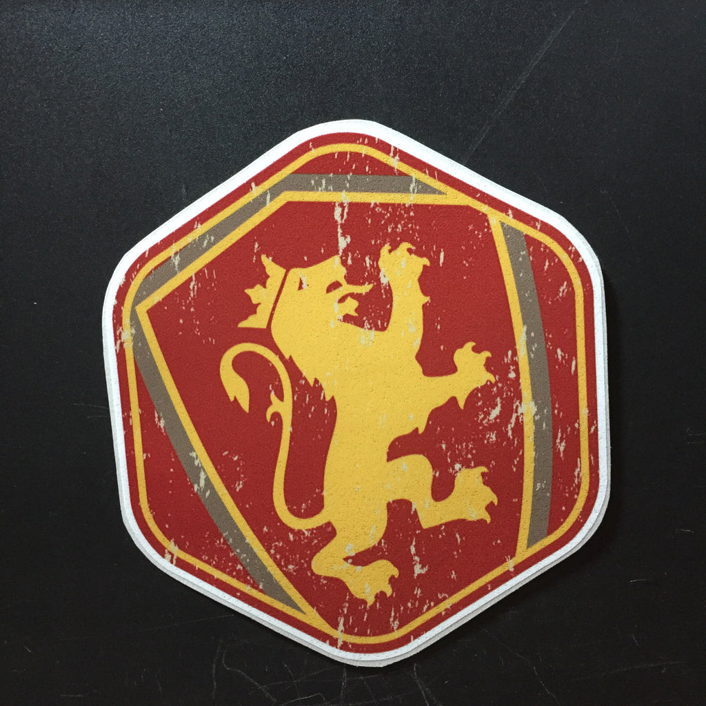 Hexagon Shield Decal