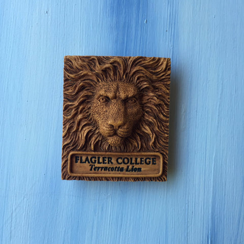 Terracotta Lion Magnet
