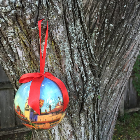 Decoupage Round Ornament