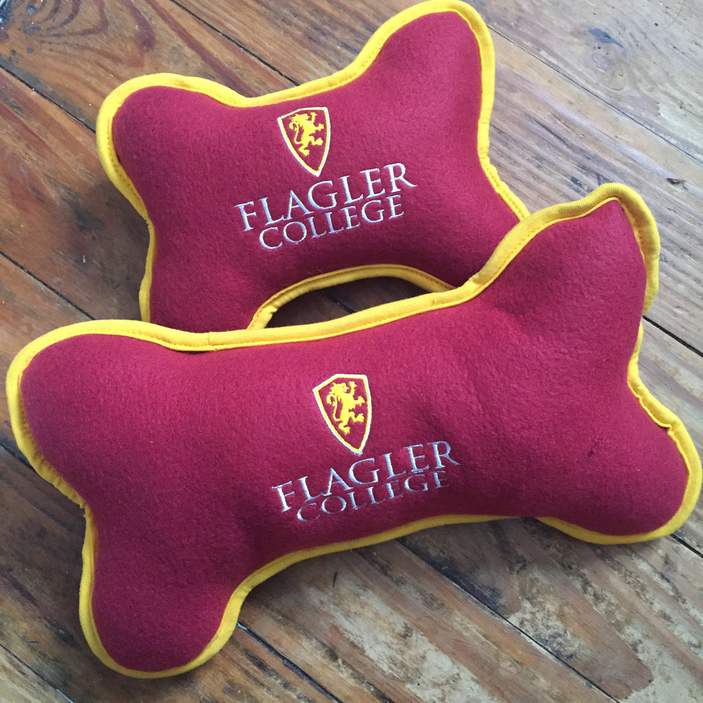 Flagler College Squeaky Dog Toy