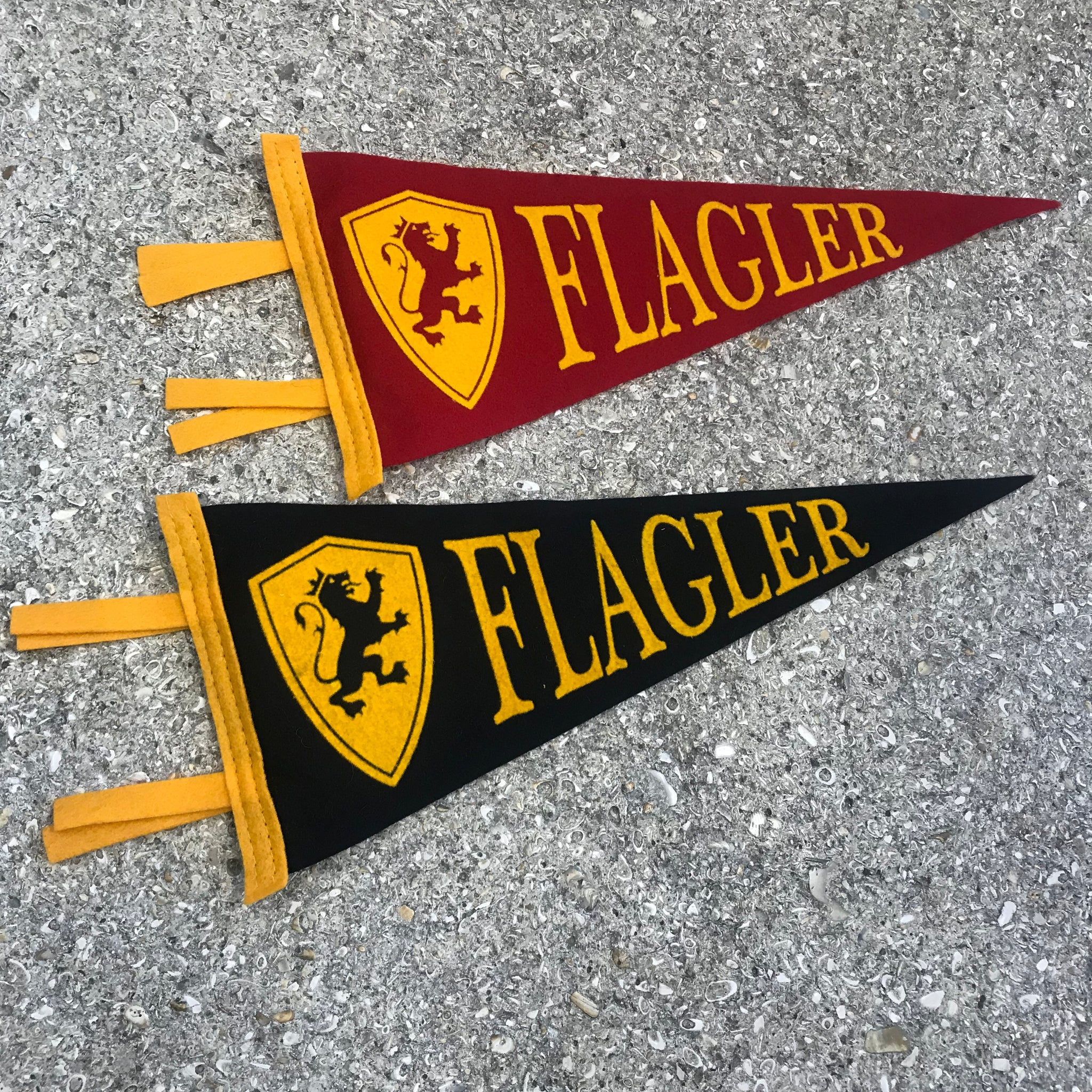 Small Flagler College Pennants