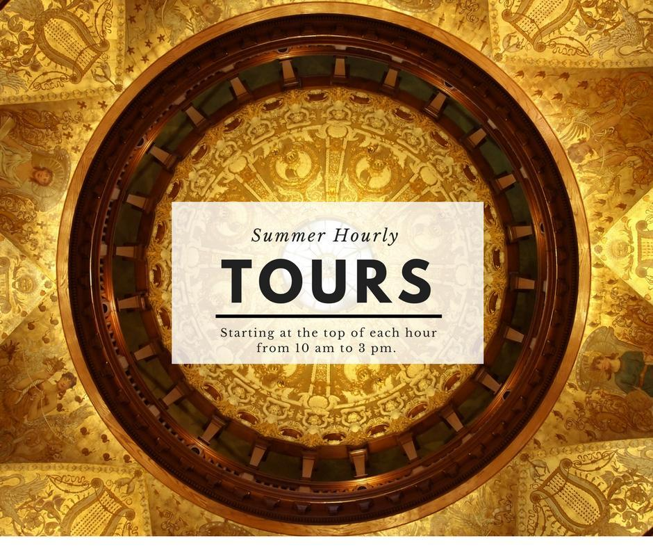 Historic Tours Daily at 10 am and 2 pm