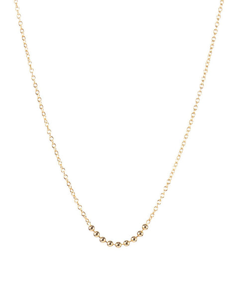 Anna Necklace | Handmade 14k Yellow Gold Chain Necklace | By Winden
