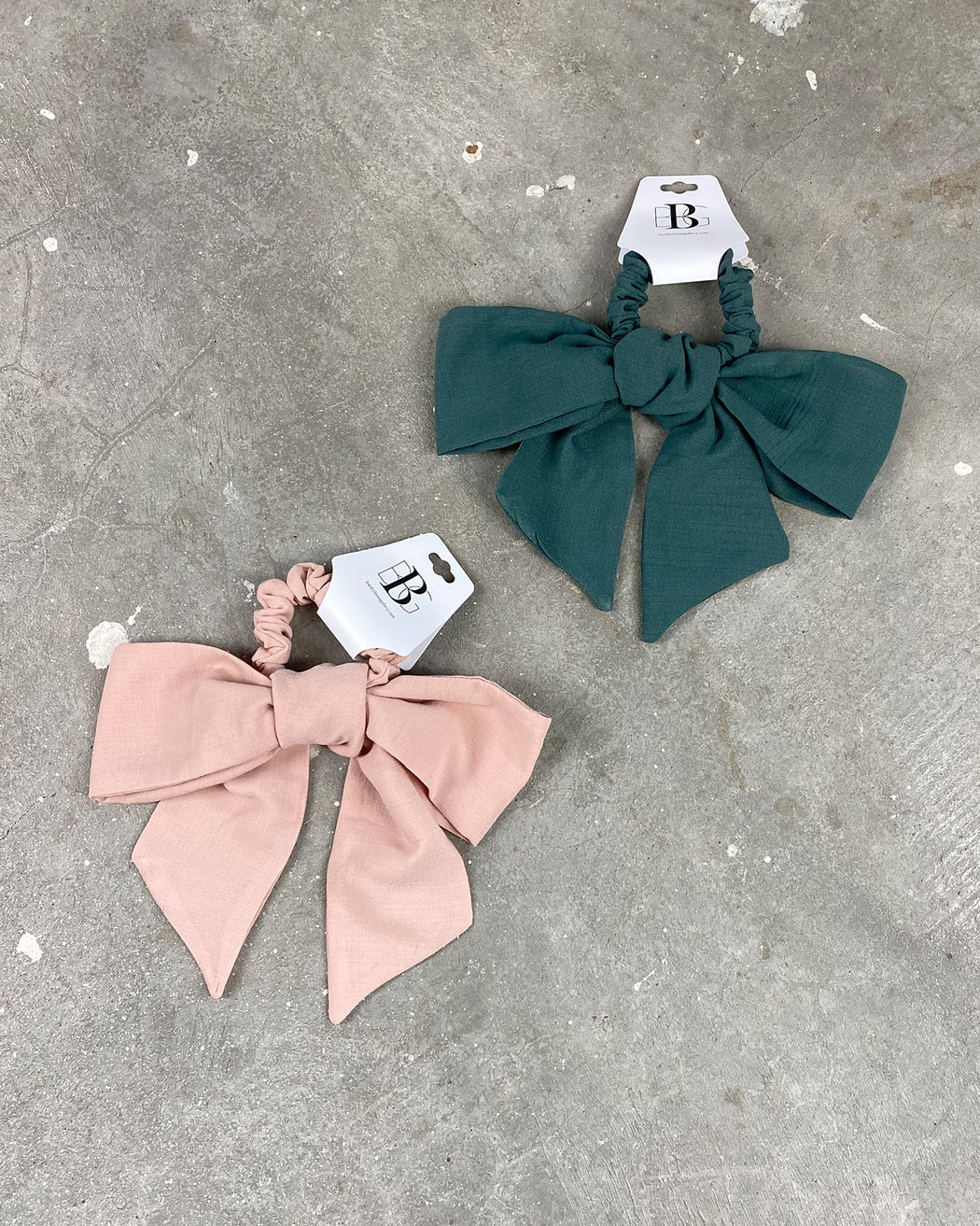 Bow Scrunchie – Assorted Colors