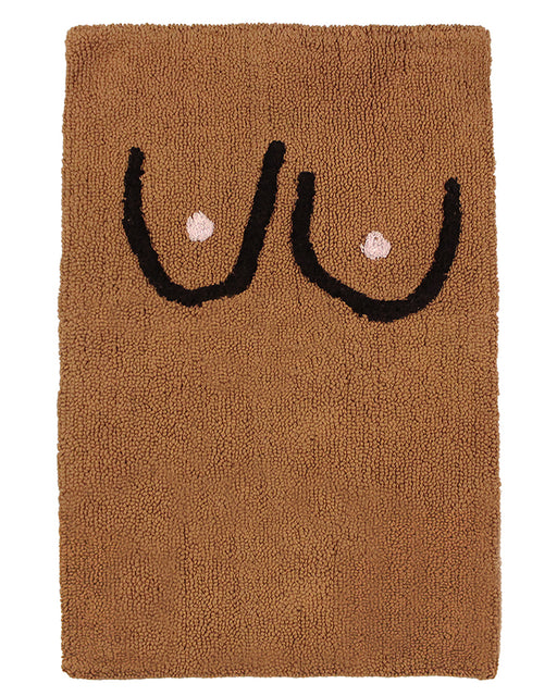 Cold Picnic:Boobs Bathmat – Brown,ANOMIE