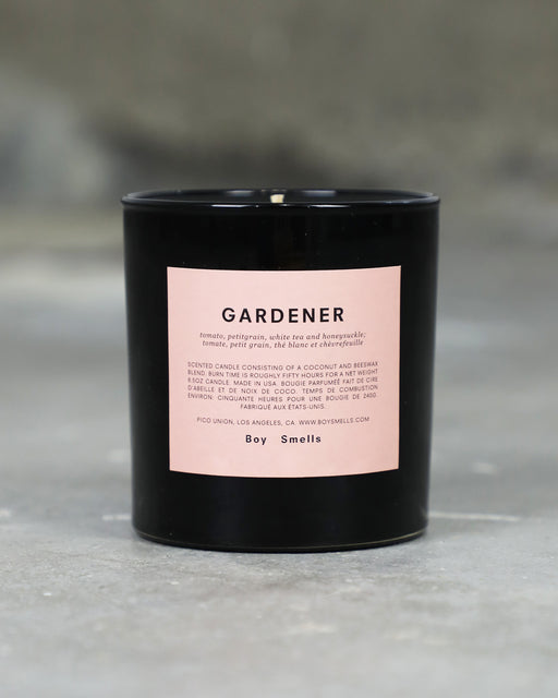 Boy Smells:Gardener – Candle,ANOMIE