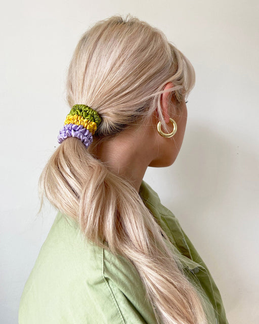 Super Sport Scrunchie Trio – Assorted Colors