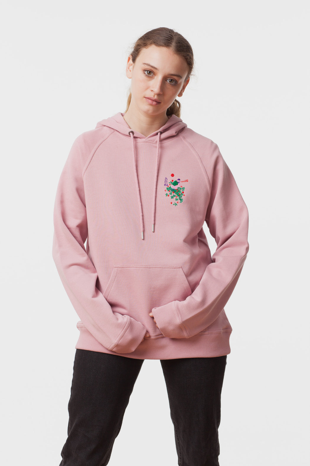 Carne Bollente:Meet Me in the Garden – Embroidered Hoodie Sweatshirt,ANOMIE