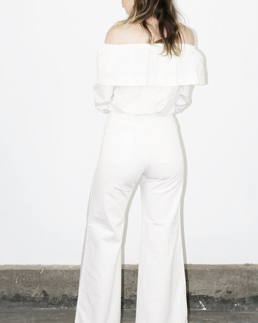 Nellie Jeans – White Denim