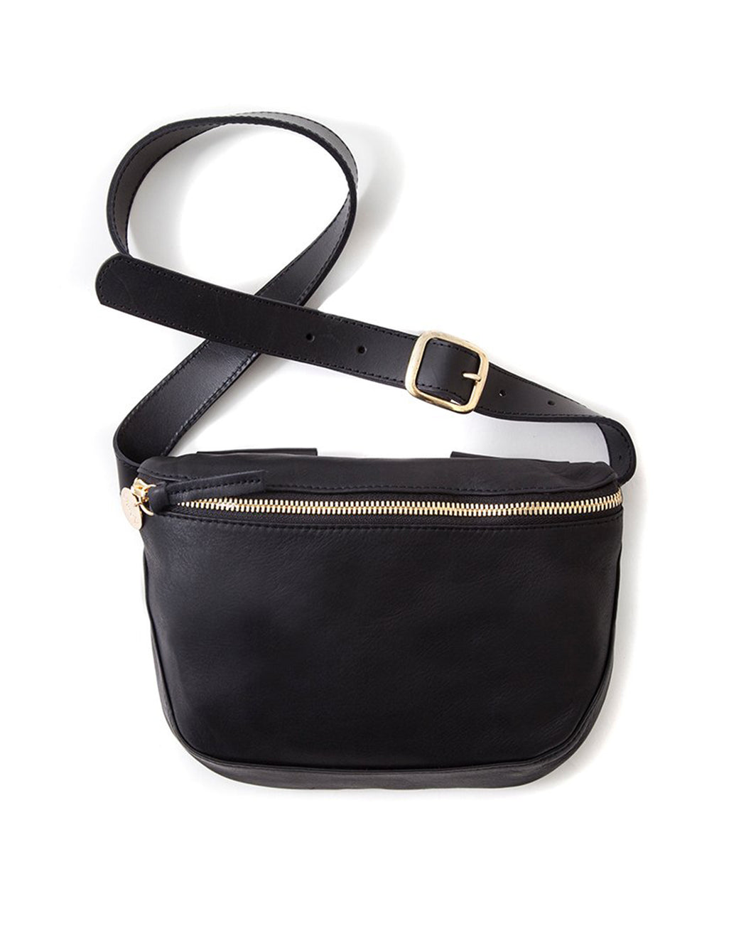 Clare V.:Fanny Pack – Black,ANOMIE