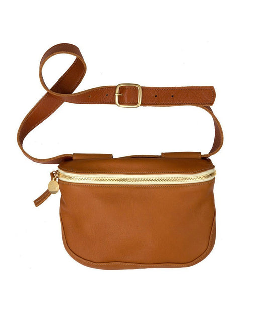 Clare V.:Fanny Pack – Tan Neptune,ANOMIE