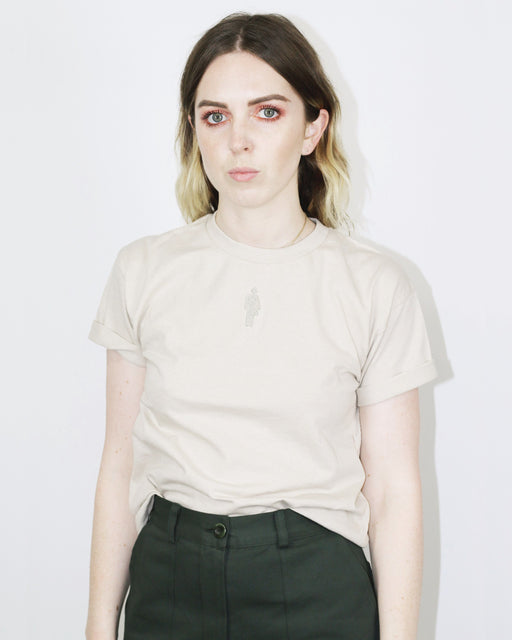 Collina Strada:Genderless Tee,sand / extra-small