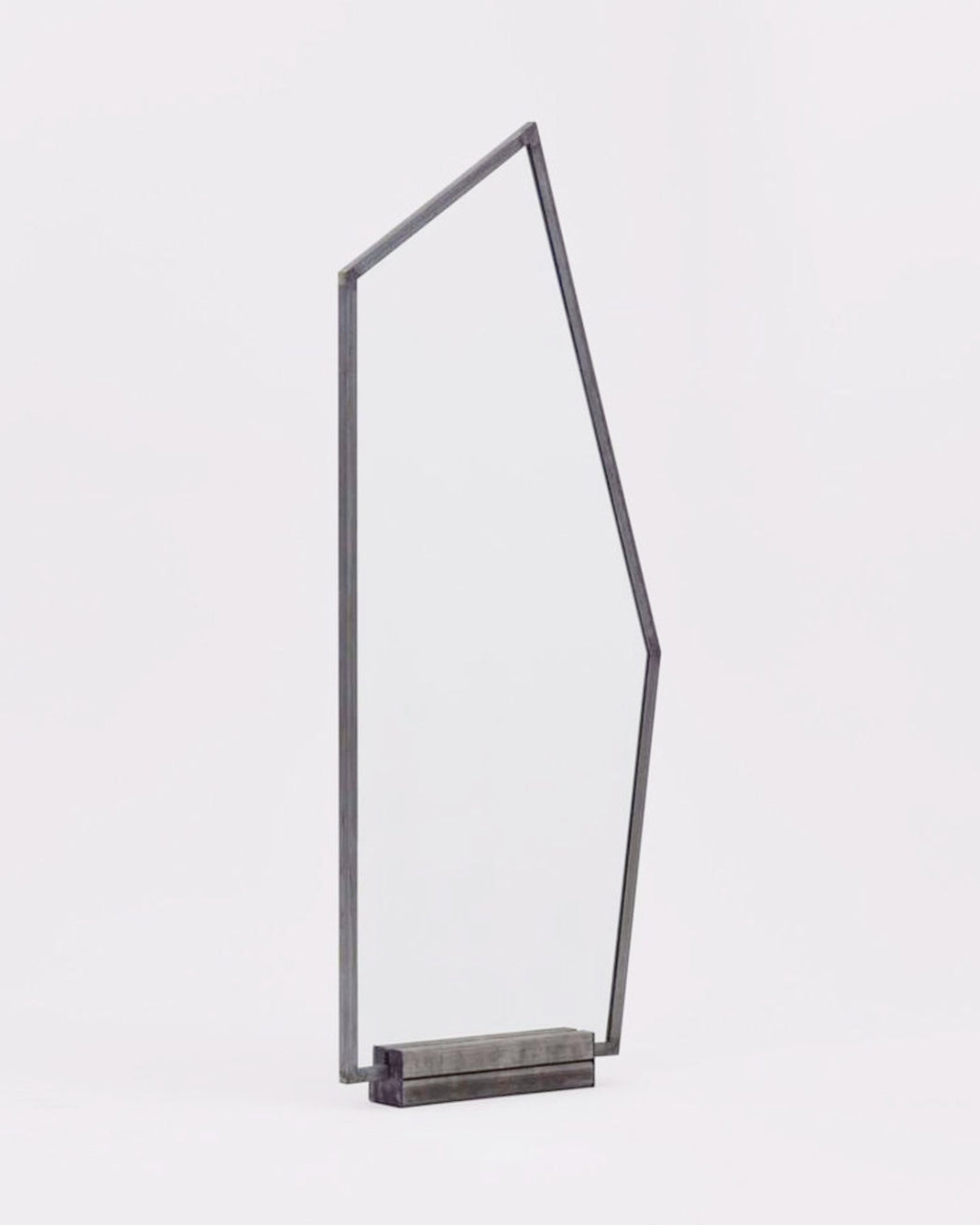 Social+Studies:Mirror – Cbject C,steel with steel base