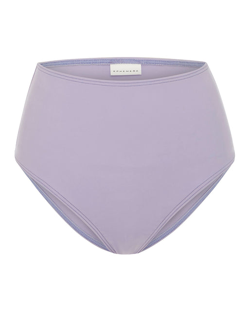 EPHEMERA:High Waisted Pant – Swim Bottom,lilac / 38 – small