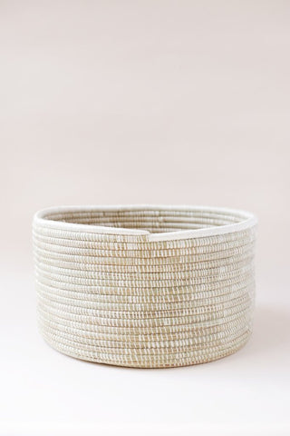open weave floor basket