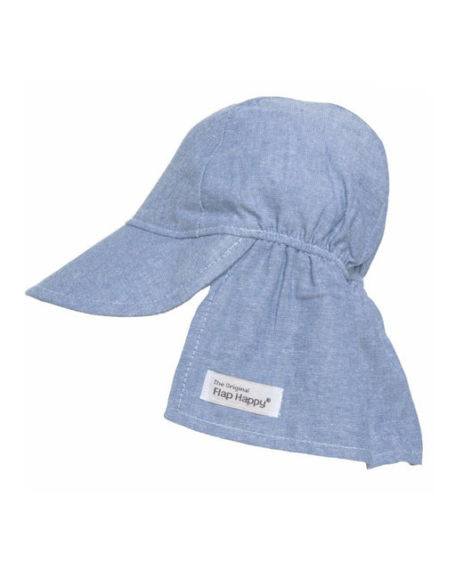UPF 50+ Original Flap Hat – Chambray