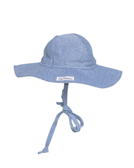UPF 50+ Floppy Hat – Chambray