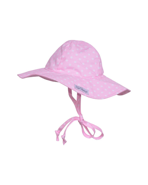 UPF 50+ Floppy Hat – Pink Dots