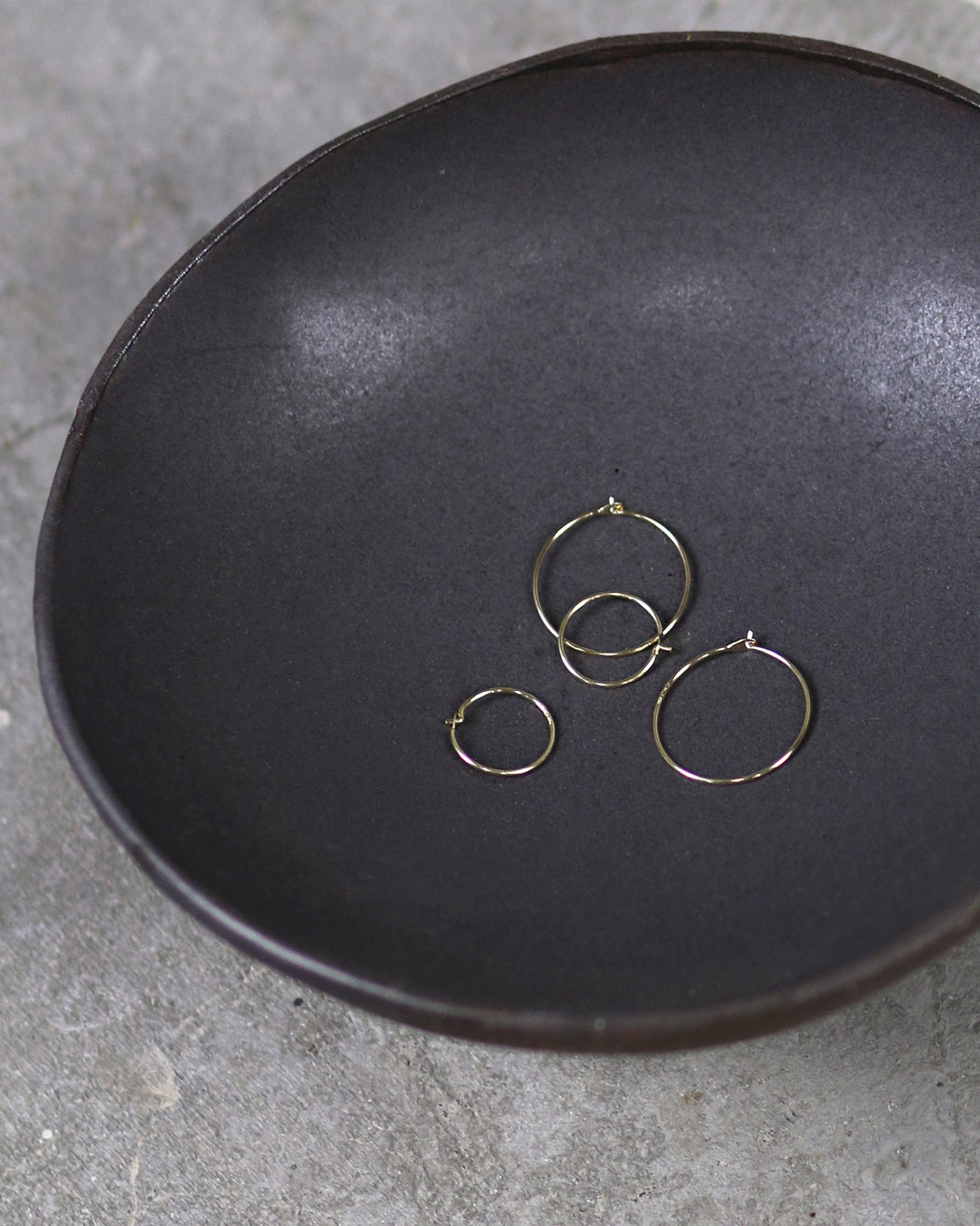 GJENMi:LA Hoop Earrings,ANOMIE