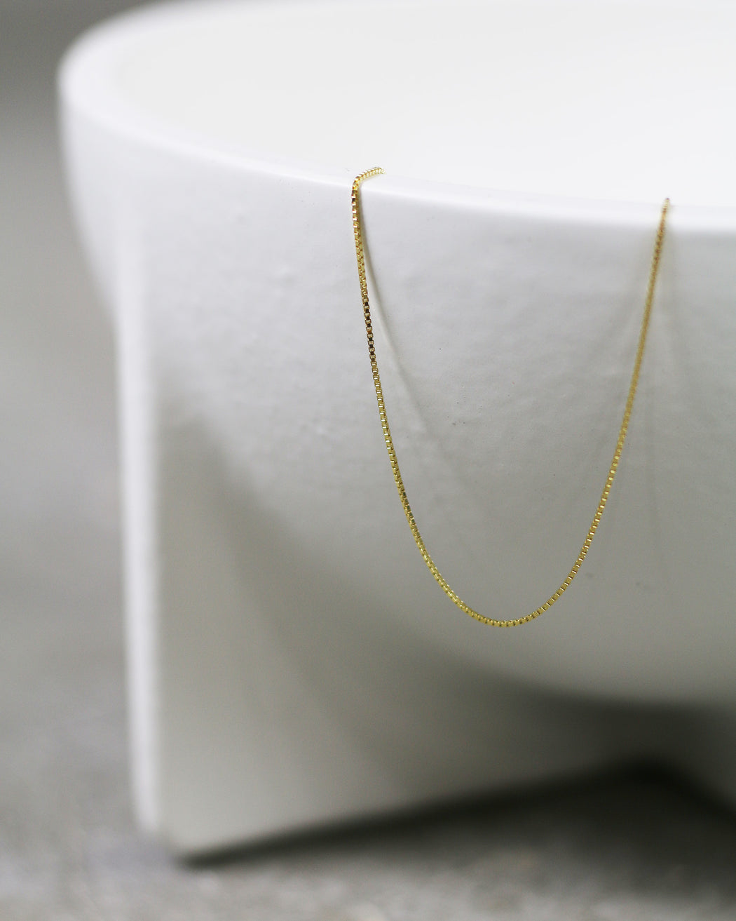 Thick Box Chain Necklace