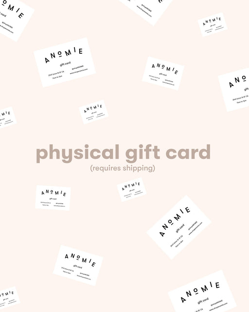 ANOMIE:Physical Gift Card,ANOMIE