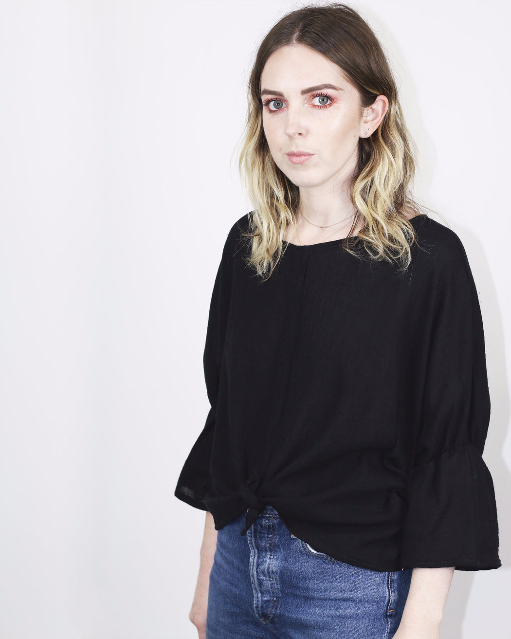 Hackwith Design House x ANOMIE:Janis Bell Sleeve Top,ANOMIE