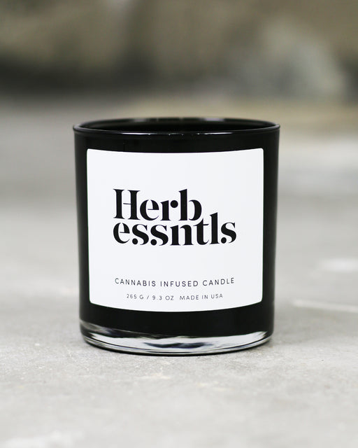 Herb Essentials:Cannabis Infused Candle,ANOMIE