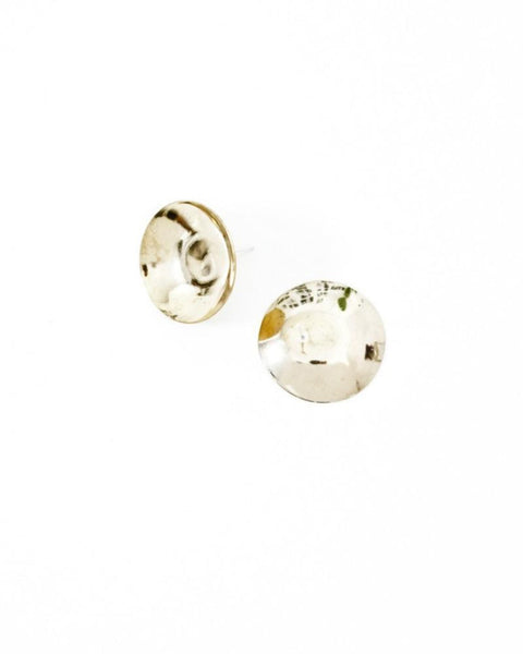 cymbal earrings