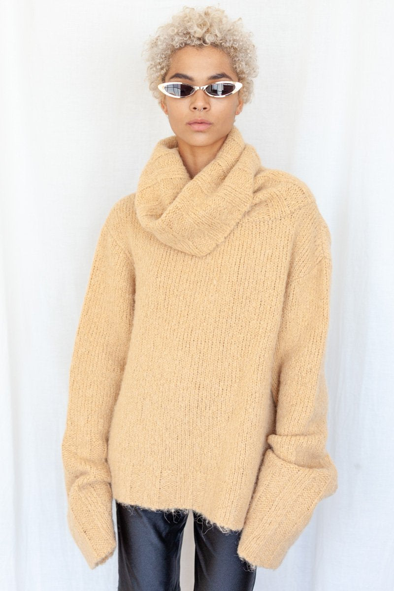 Toit Volant:Hannah Sweater – Taupe,ANOMIE