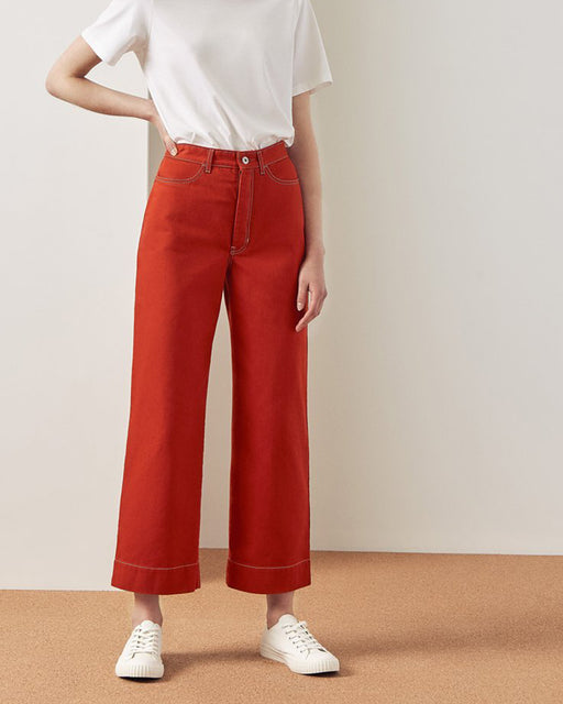 KOWTOW:Stage Pant – Brick Denim,ANOMIE