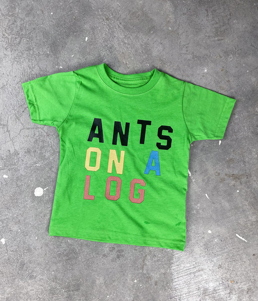 Ants on a Log Kid's Tee