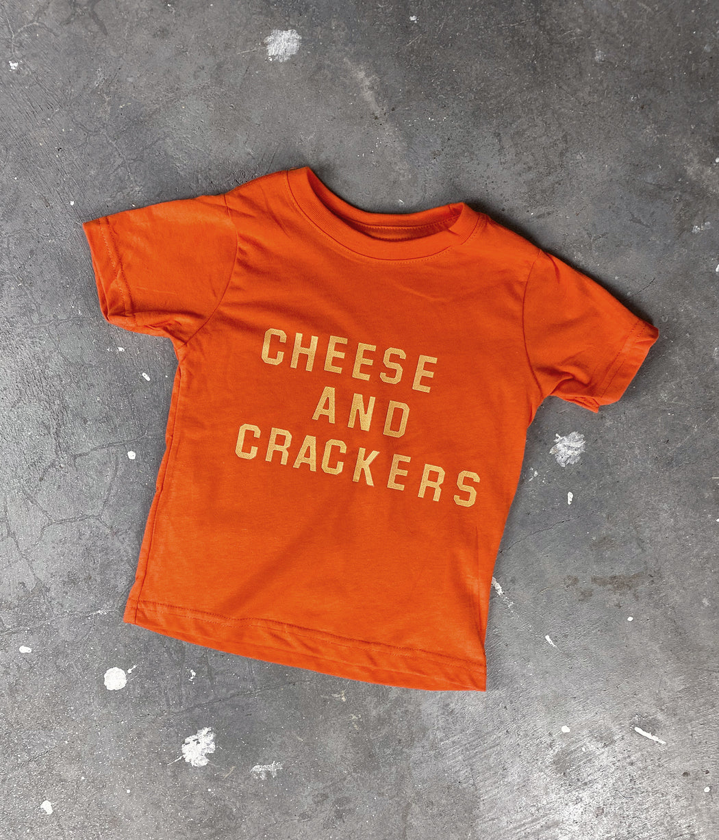 Cheese and Crackers Kid's Tee