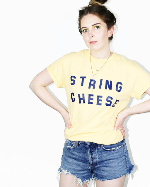Katie Kimmel x ANOMIE:String Cheese Tee,ANOMIE