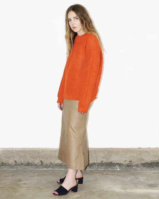 Kordal:Kei Sweater - Clementine,ANOMIE