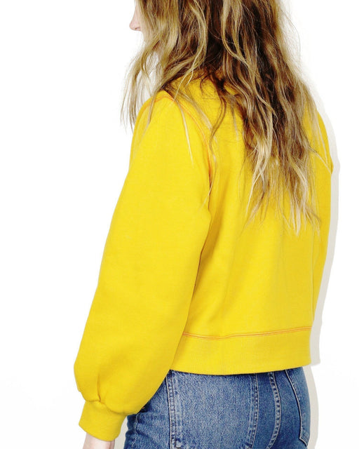 L.F.Markey:Theirry Sweatshirt – Sunflower,ANOMIE