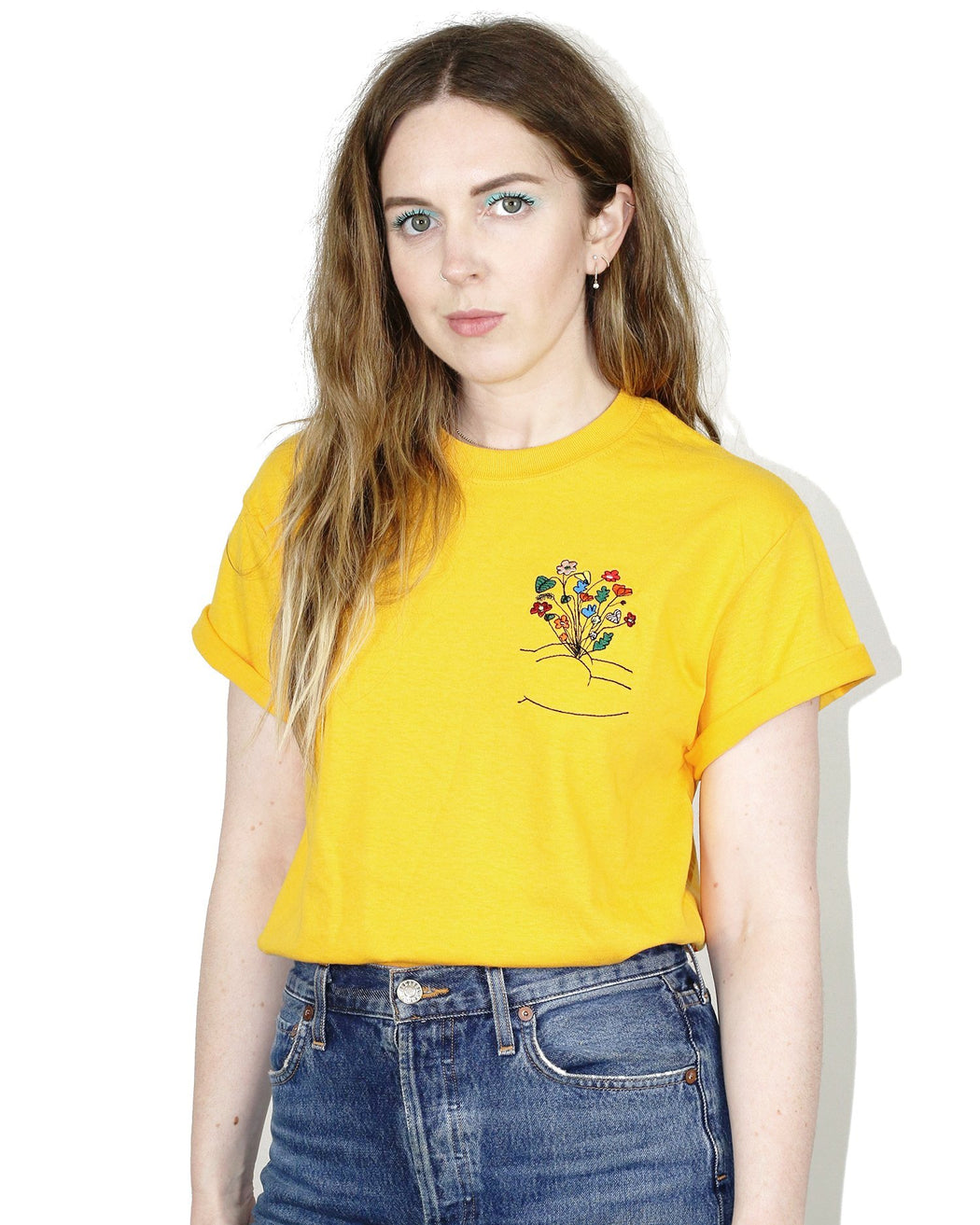 Laura Chautin:Bum Tee – Yellow,ANOMIE