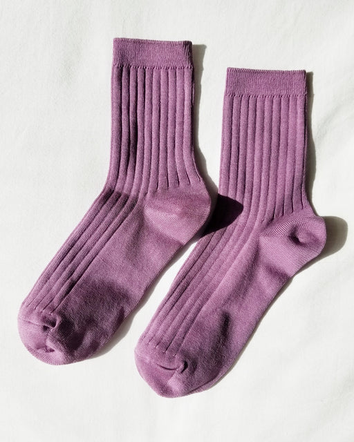 Her Socks – Orchid