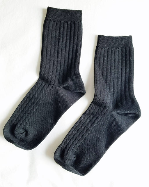 Her Socks – True Black