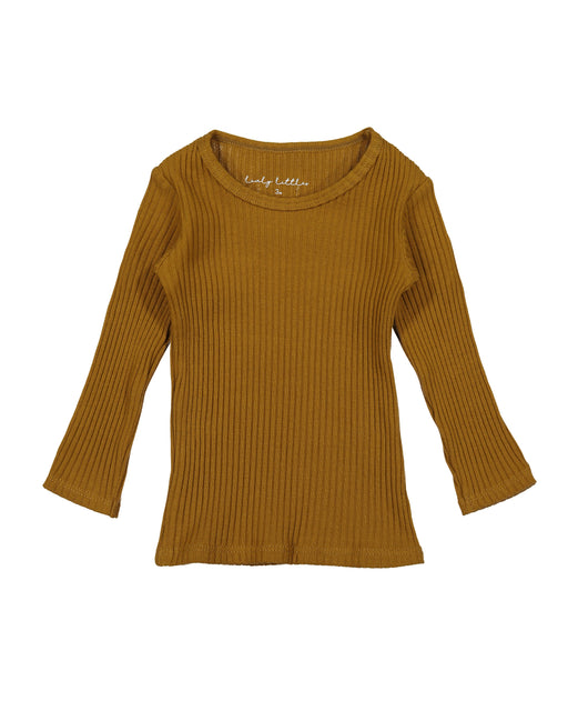 Ribbed Long Sleeve Tee – Cider