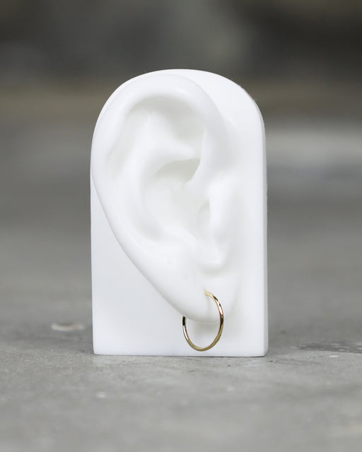 Maria Tash:Plain Gold Ring – 12.5mm,ANOMIE